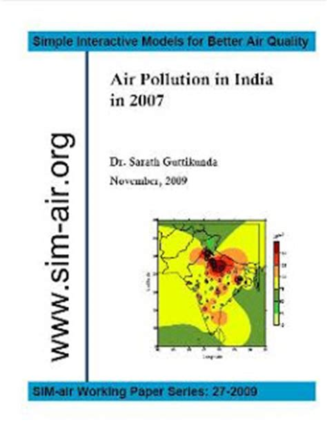Air Pollution Monitoring Using Earth Observation & GIS